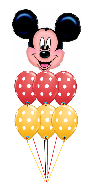 Awesome Balloon Bouquet - Mickey Mouse
