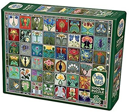 Art Nouveau Tiles 1000pc Cobble Hill Jigsaw Puzzle