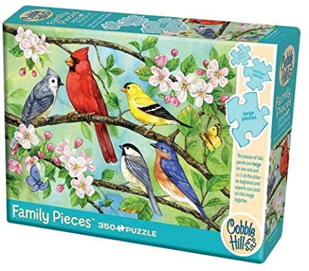 Bloomin' Birds 350pc Cobble Hill Family Puzzle