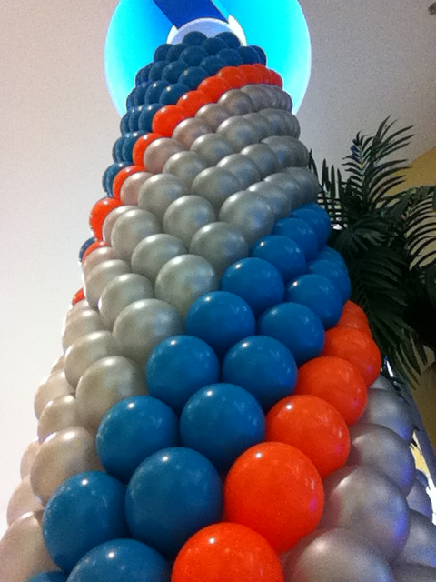 Pillar Wrap Balloons