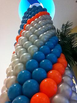 Pillar Wrap Balloons
