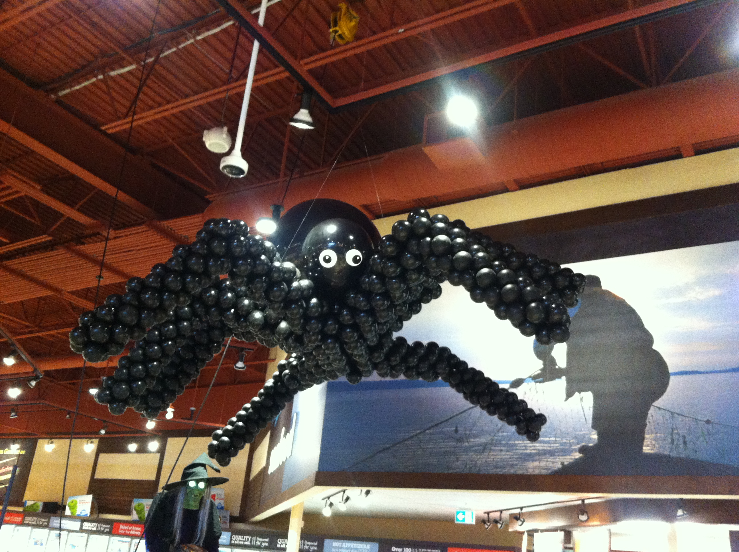 HUGE Spider Balloon Sculpture