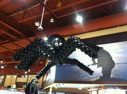 HUGE Spider Balloon Sculpture