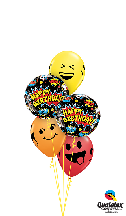 Classic Balloon Bouquet - Birthday Expressions
