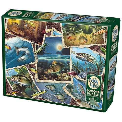 Fish Pics 1000pc Cobble Hill Jigsaw Puzzle