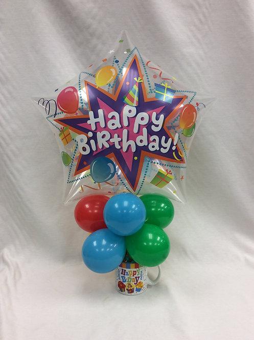 Birthday Bubble Candy Mug