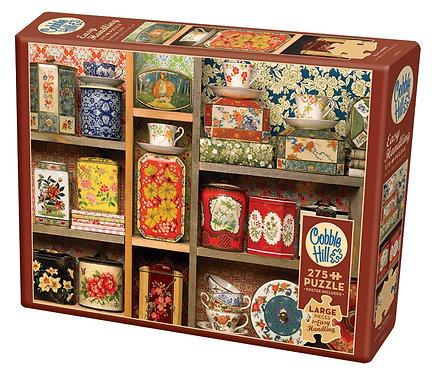 Tea Caddies 275pc Cobble Hill Jigsaw Puzzle