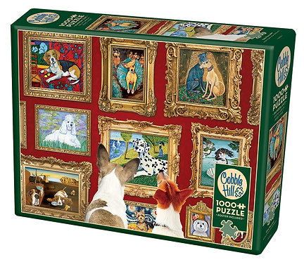 Dog Gallery 1000pc Cobble Hill Jigsaw Puzzle