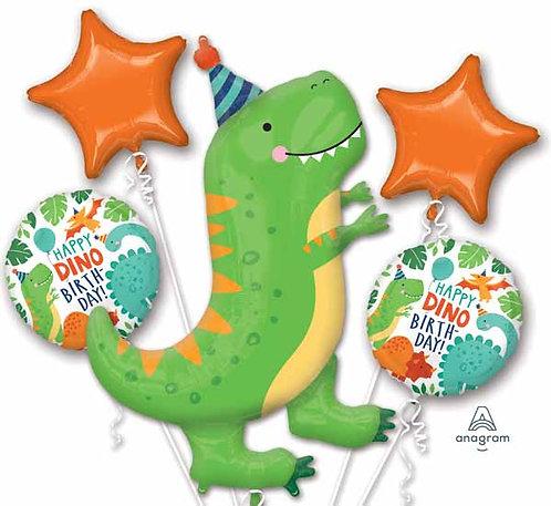 Super Fun Foil Bouquet - Dinomite Party Birthday