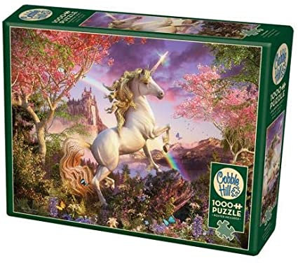 Unicorn 1000pc Cobble Hill Jigsaw Puzzle