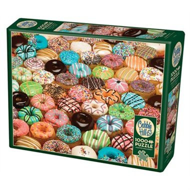 Doughnuts 1000pc Cobble Hill Jigsaw Puzzle