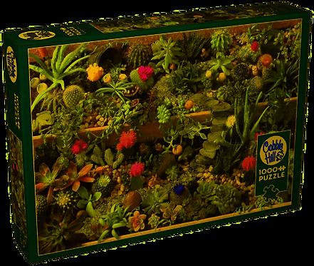 Succulent Garden 1000pc Cobble Hill Jigsaw Puzzle