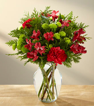 The FTD® Holiday Happenings™ Bouquet B24