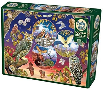 Owl Magic 1000pc Cobble Hill Jigsaw Puzzle