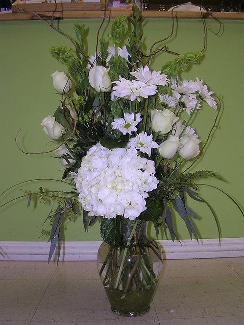 Angel's Kiss Vase Arrangement