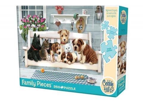 Porch Pals 350pc Cobble Hill Family Puzzle