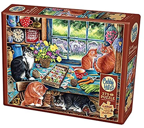 Cats Retreat 275pc Cobble Hill Jigsaw Puzzle