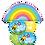 Thumbnail: Cheerful Balloon Bouquet - Rainbows, Bumble Bees & Flowers