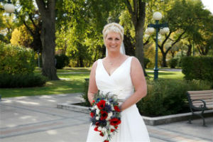 Bride's Bouquet - Poppies