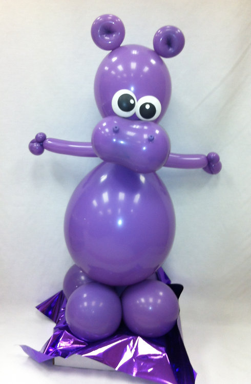 House Hippo Balloon Buddy
