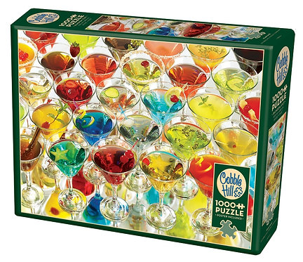 Martinis! 1000pc Cobble Hill Jigsaw Puzzle