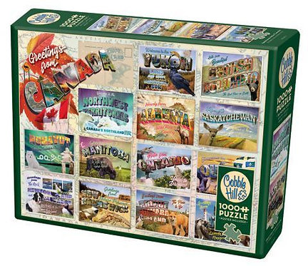 Greetings from Canada 1000pc Cobble Hill Jigsaw Puzzle