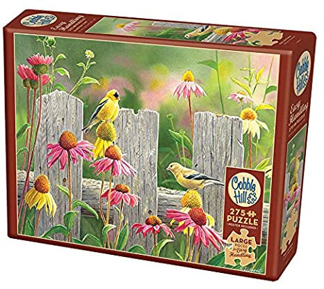 Pink and Gold 275pc Cobble Hill Jigsaw Puzzle