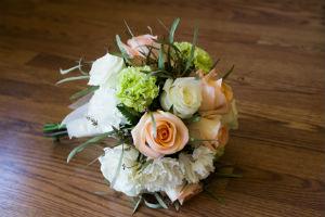 Peach & White Bouquet