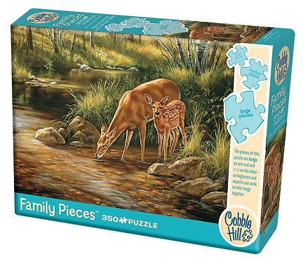 Deer Family 350pc Cobble Hill Family Puzzle