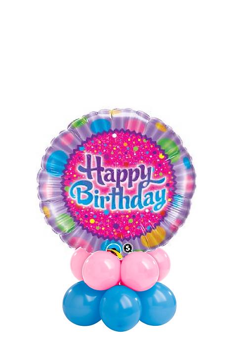Sprinkles & Sparkles Birthday Table Topper