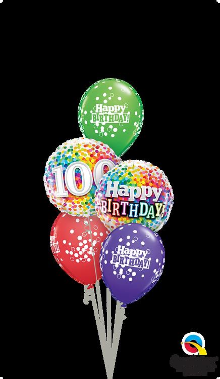 Classic Balloon Bouquet - One Happy Century