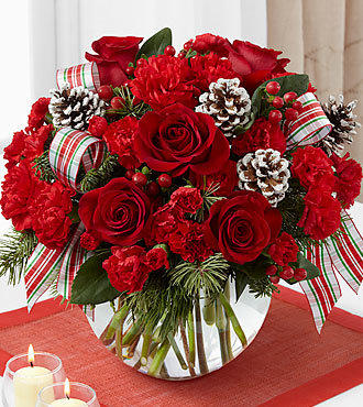 The FTD® Holiday Peace™ Bouquet PM B10-4962p