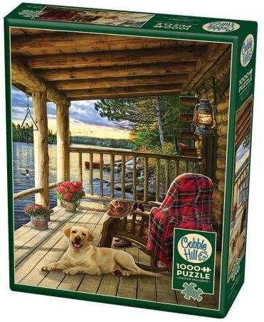 Cabin Porch 1000pc Cobble Hill Jigsaw Puzzle