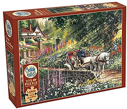 Carriage Ride 275pc Cobble Hill Jigsaw Puzzle
