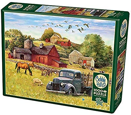 Summer Afternoon on the Farm 1000pc Cobble Hill Jigsaw Puzzle