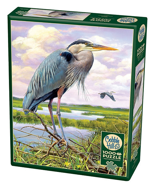 Heron 1000pc Cobble Hill Jigsaw Puzzle