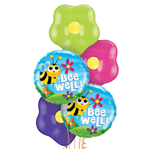 Blossom Balloon Bouquet - Get Well Soon