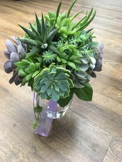 Bride's Bouquet Succulents