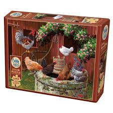 The Chickens Are Well 275pc Cobble Hill Jigsaw Puzzle