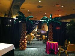 Palm Tree Balloon Sculpture