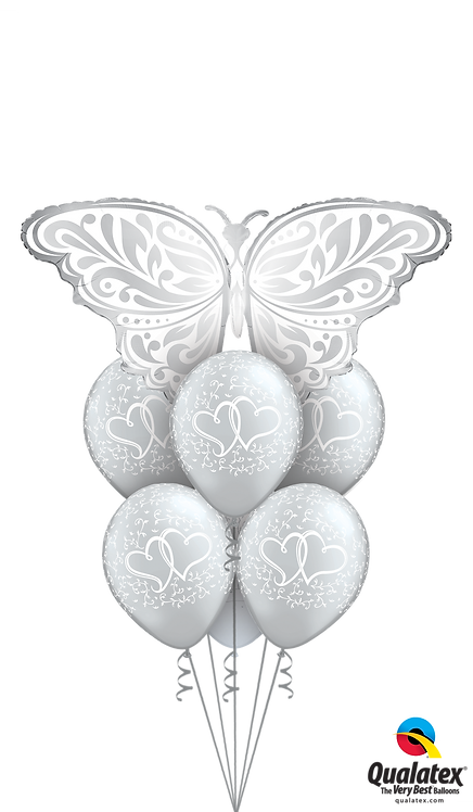 Awesome Balloon Bouquet - Butterfly Love