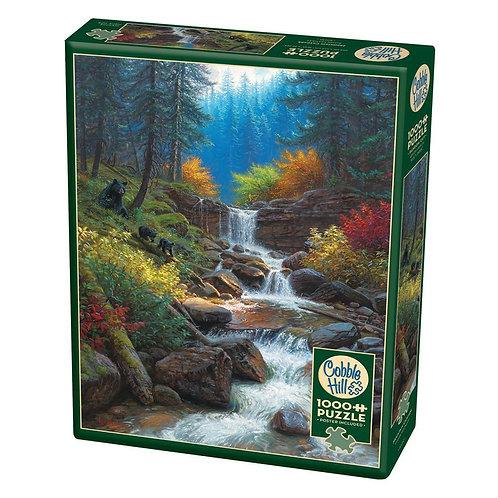 Mountain Cascade 1000pc Cobble Hill Jigsaw Puzzle