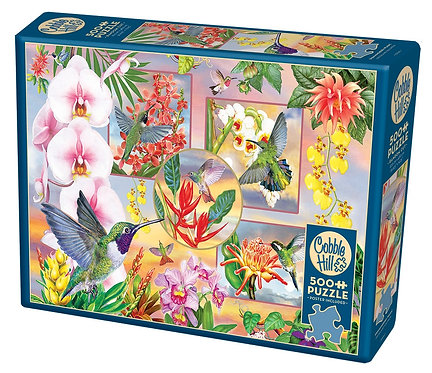 Hummingbird Magic 500pc Cobble Hill Jigsaw Puzzle