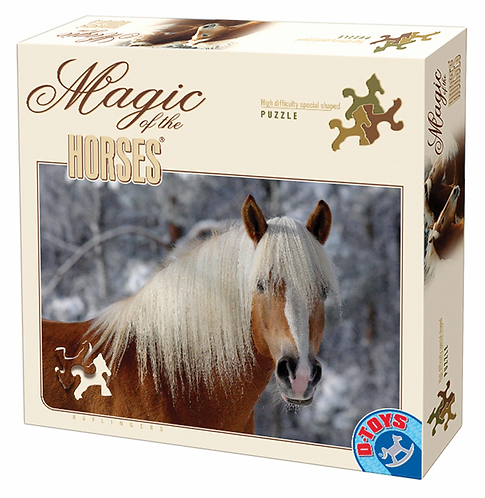 Magic of the Horses 1000pc D-Toys Jigsaw Puzzle