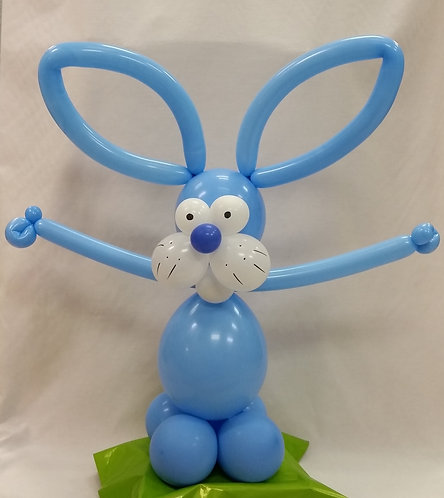 Bunny Balloon Buddy - Blue