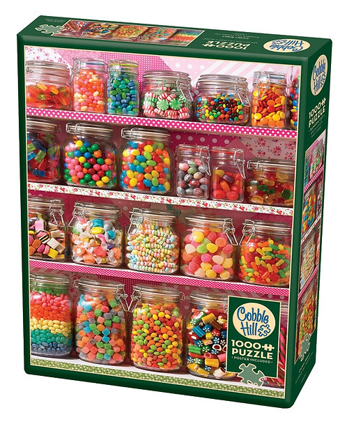 Candy Shelf 1000pc Cobble Hill Jigsaw Puzzle