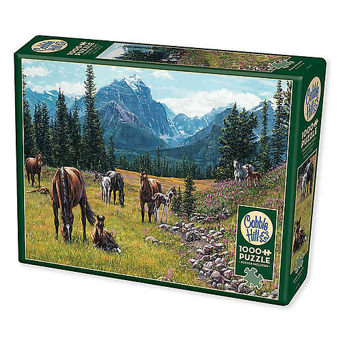 Horse Meadow 1000pc Cobble Hill Jigsaw Puzzle