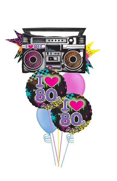 I Heart the 80's Bouquet