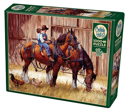 Back to the Barn 1000pc Cobble Hill Jigsaw Puzzle