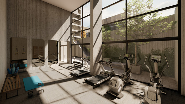 GYM EDIFICIO EINSTEIN